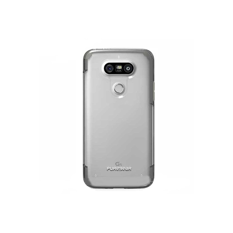 . Funda Puregear Slimshell para LG G5 Transparente borde Gris