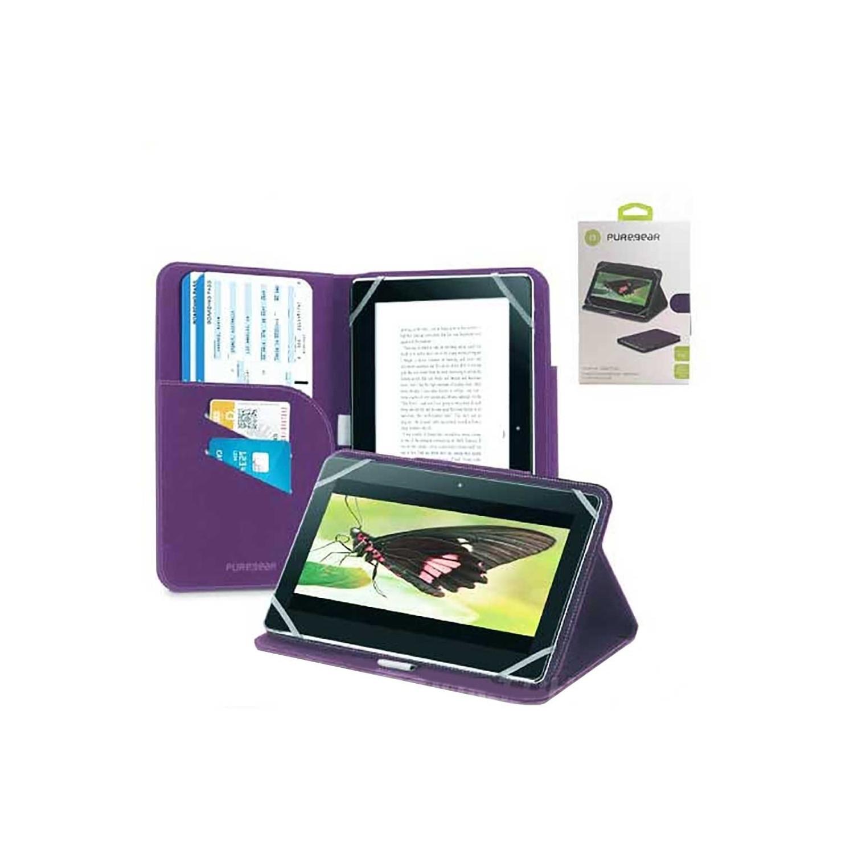 """Case - Puregear Universal Tablet Folio 7-8"""" Purple"""
