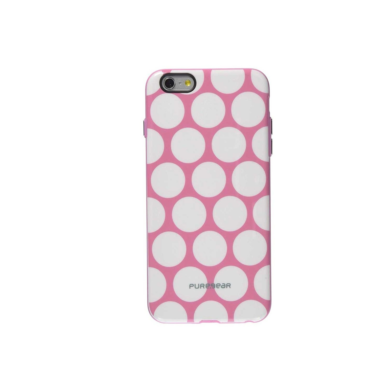 . Funda PUREGEAR Motif para iPhone 6 PLUS Rosa Puntos