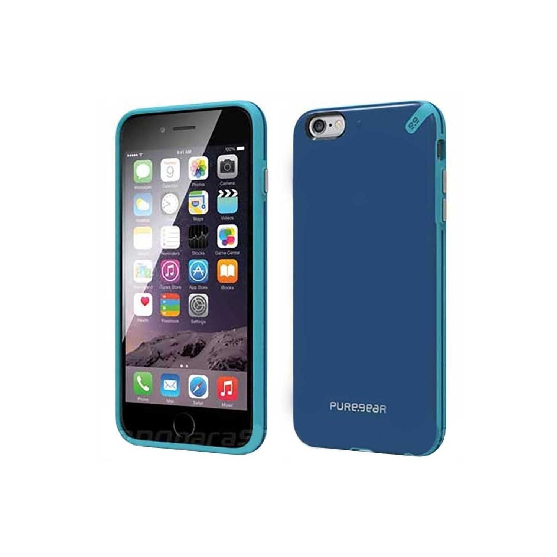 . Funda PUREGEAR Slimshell para iPhone 6 y 6s Azul