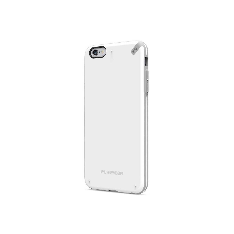 . Funda PUREGEAR Slimshell para iPhone 6 y 6s Blanco
