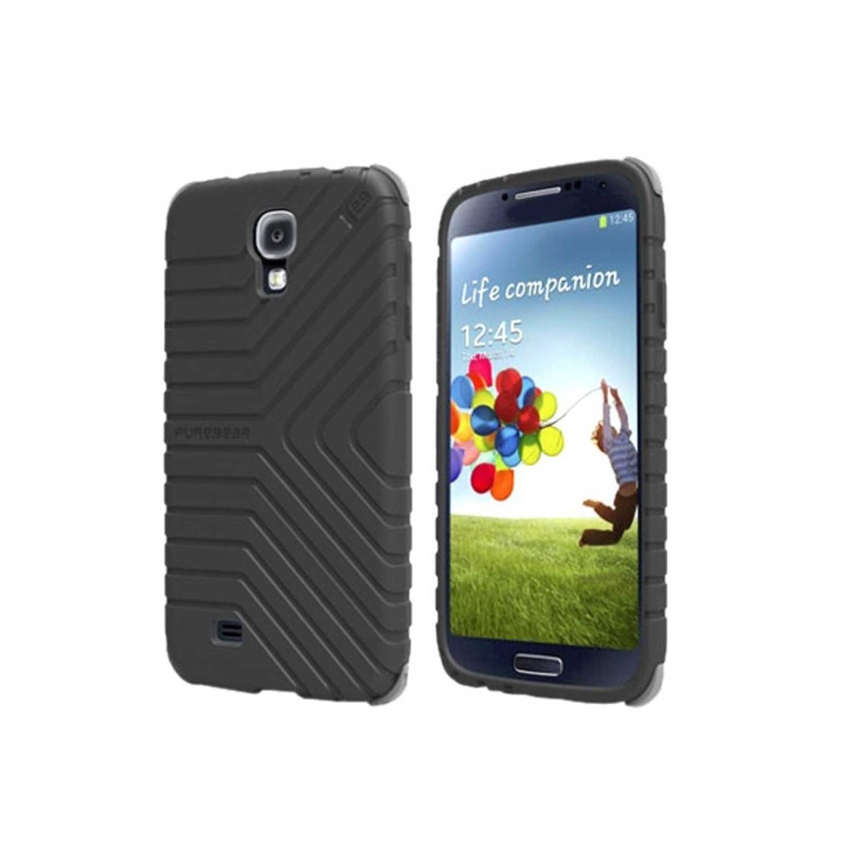 . Funda PUREGEAR Griptek para Samsung S4 Negro
