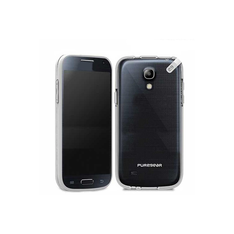. Funda PUREGEAR Slimshell para Samsung S4 MINI Tran Gris