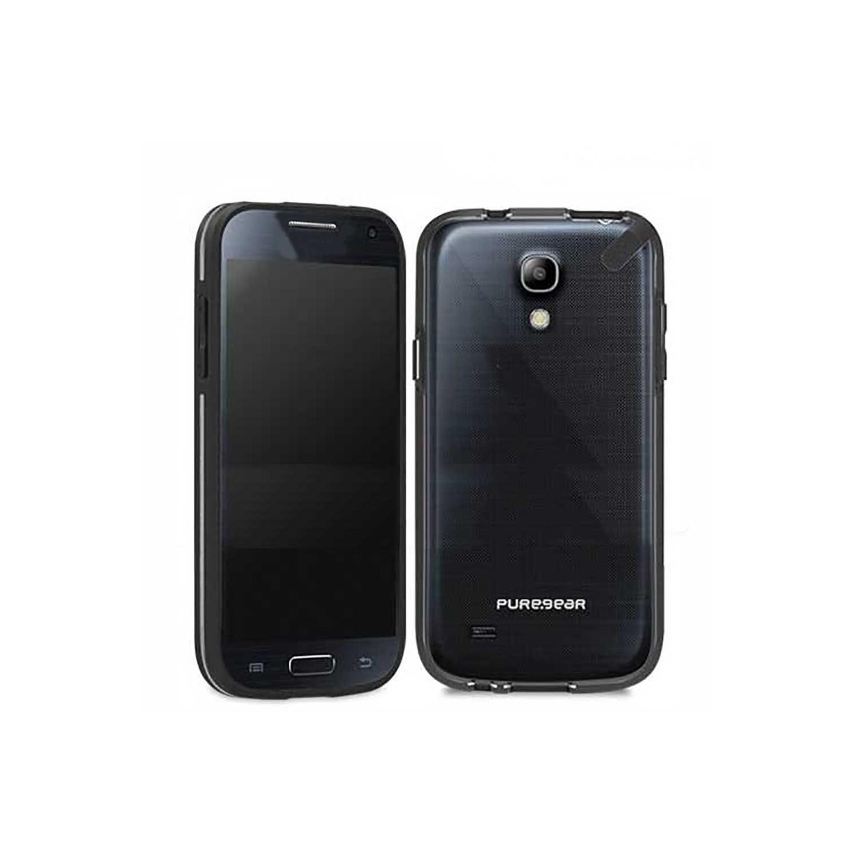 . Funda PUREGEAR Slimshell para Samsung S4 MINI Tra Negro