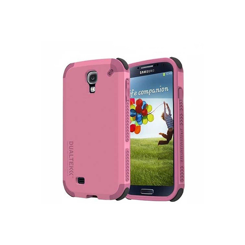 . Funda PUREGEAR Dualtek para Samsung S4 Rosa