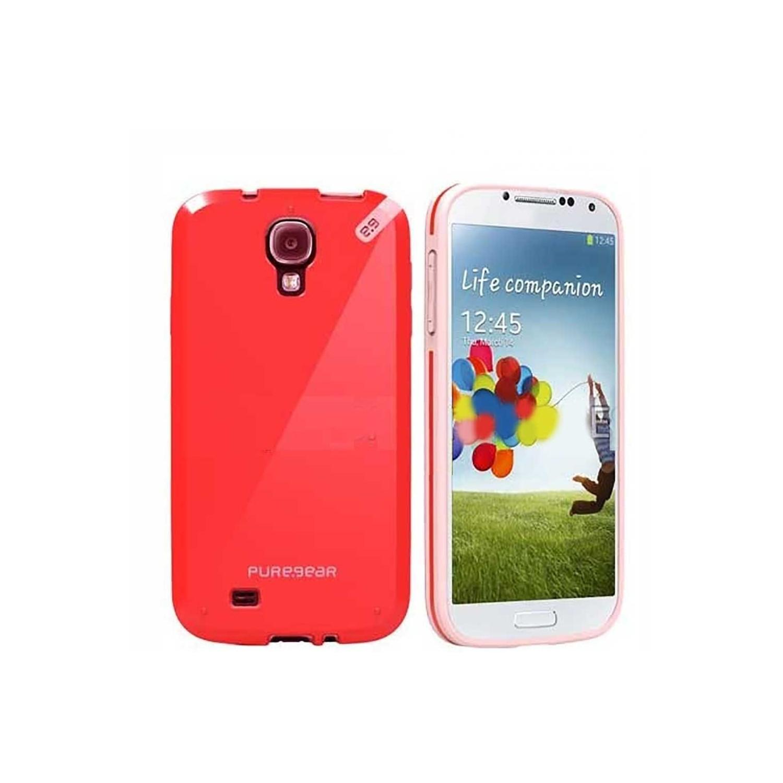 . Funda PUREGEAR Slimshell para Samsung S4 Rosa Fresa