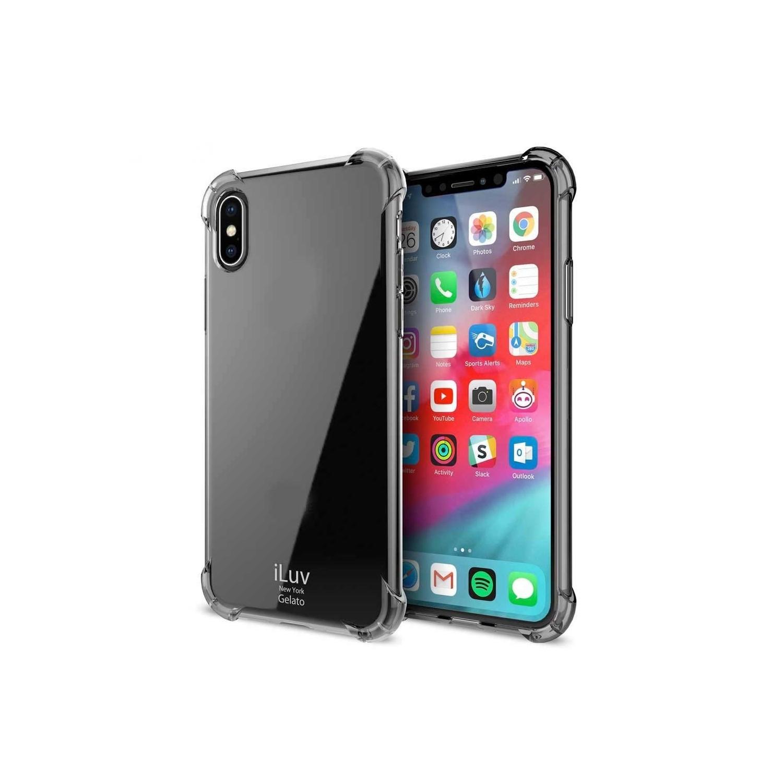 . Funda ILUV Gelato para iPhone XS MAX TPU Humo Translucido