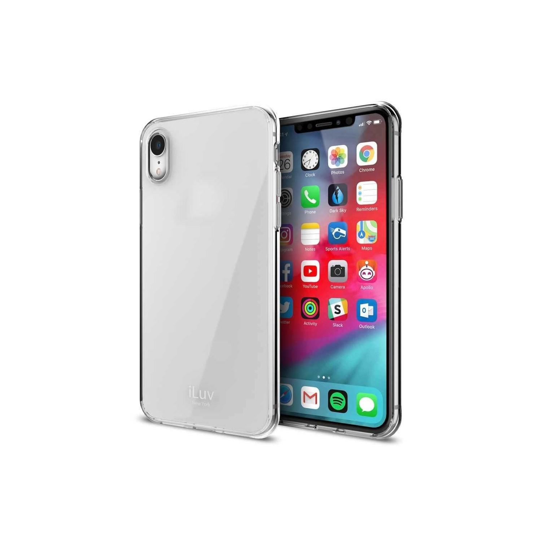 . Funda ILUV Vyneer para iPhone XR Transparente