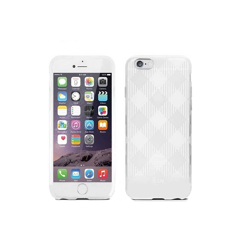 . Funda ILUV Gelato para iPhone 6 y 6s TPU Blanco