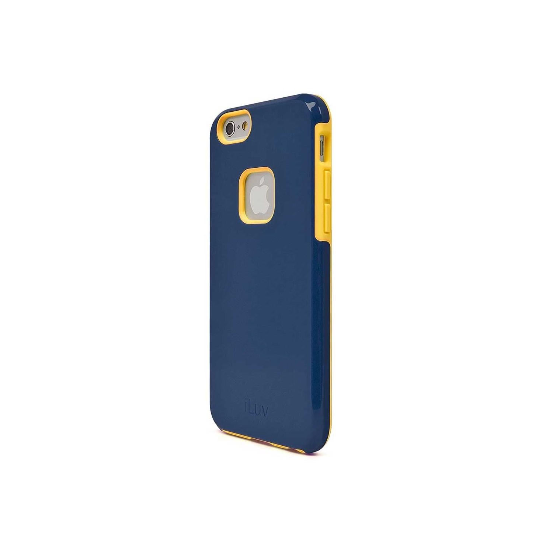 . Funda ILUV Regatta para iPhone 6 y 6s Azul Amarillo