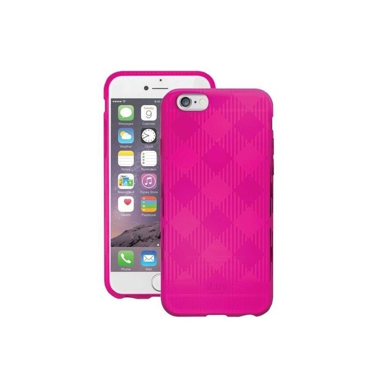. Funda ILUV Gelato para iPhone 6 y 6s TPU Rosa