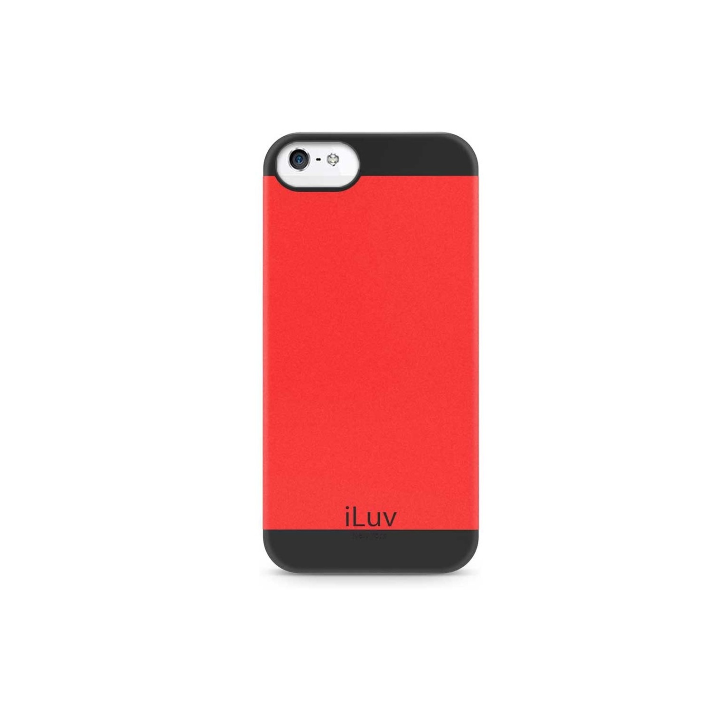 . Funda ILUV FlightFit Roja para iPhone SE 2016 iPhone 5s y 5