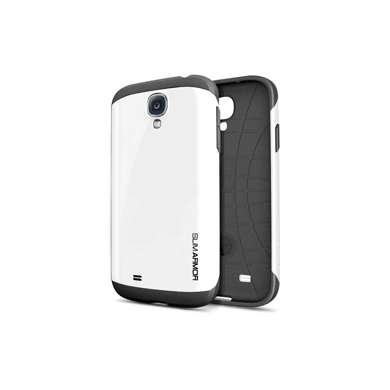 . Funda SPIGEN para Samsung S4 Slim Armor Blanco