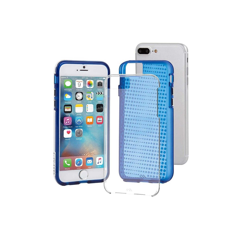 . Funda CASE MATE Tough Azul paraiPhone8 PLUS Translucido Dots