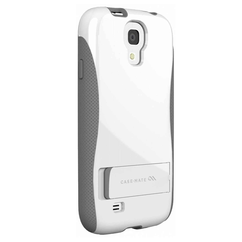 . Funda CASE MATE Pop para Samsung S4 Blanco Gris