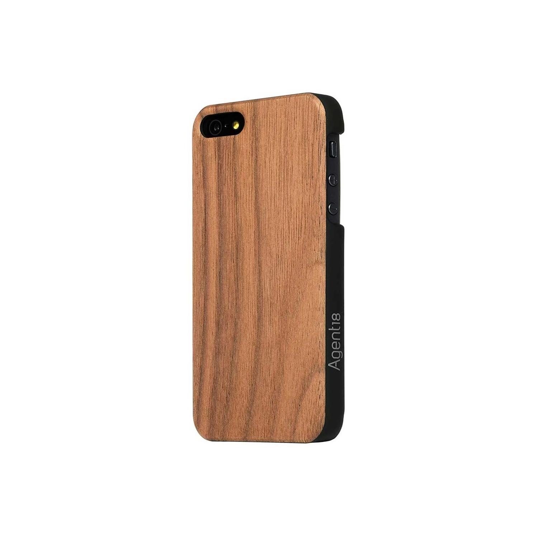 . Funda AGENT 18 para iPhone 5s y 5 iPhone SE 2016 acabado madera