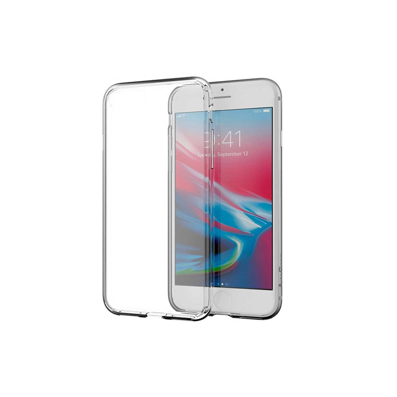 . Funda ARTSCASE Impact Hybrid para iPhone SE iPhone 8 Transparente