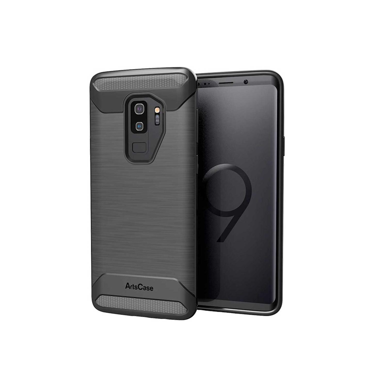 . Funda ARTSCASE rugged TPU para Samsung S9 PLUS Negra
