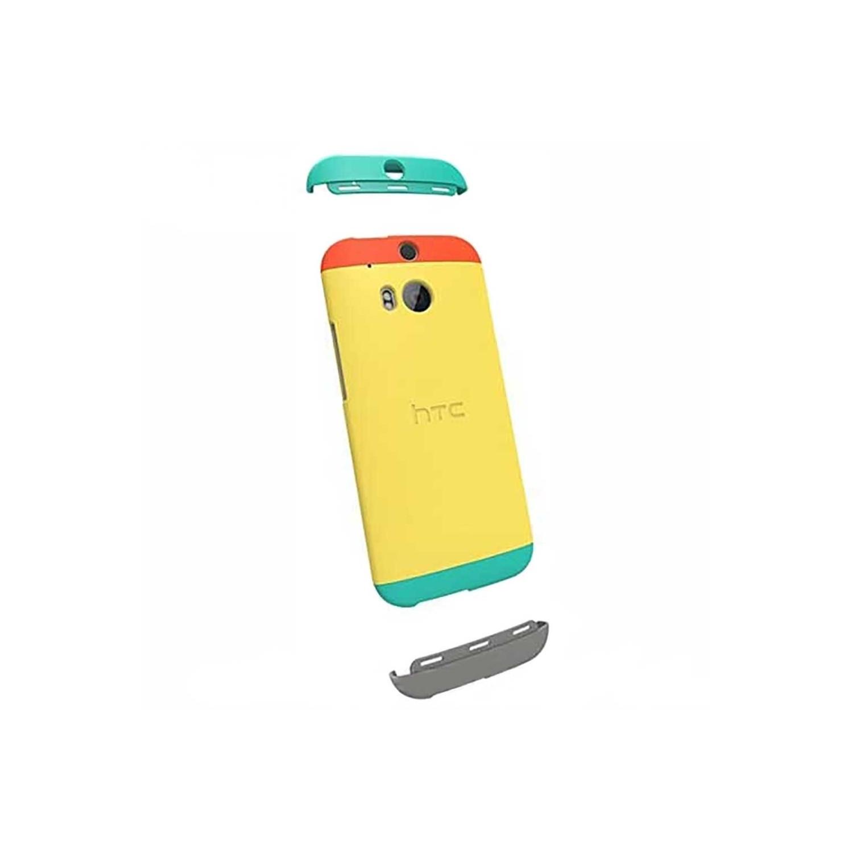 . Funda Dip Case para HTC One M8 Amarilla