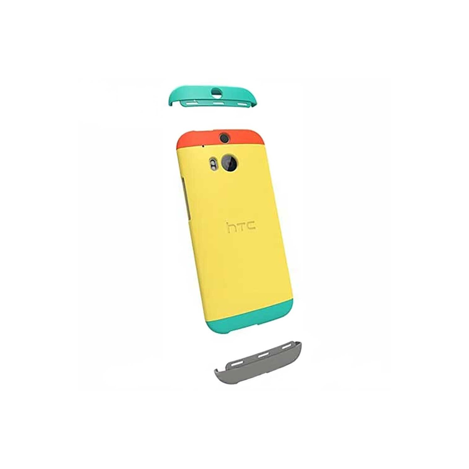 Case - Dip Case HTC OEM for HTC One M8 Yellow