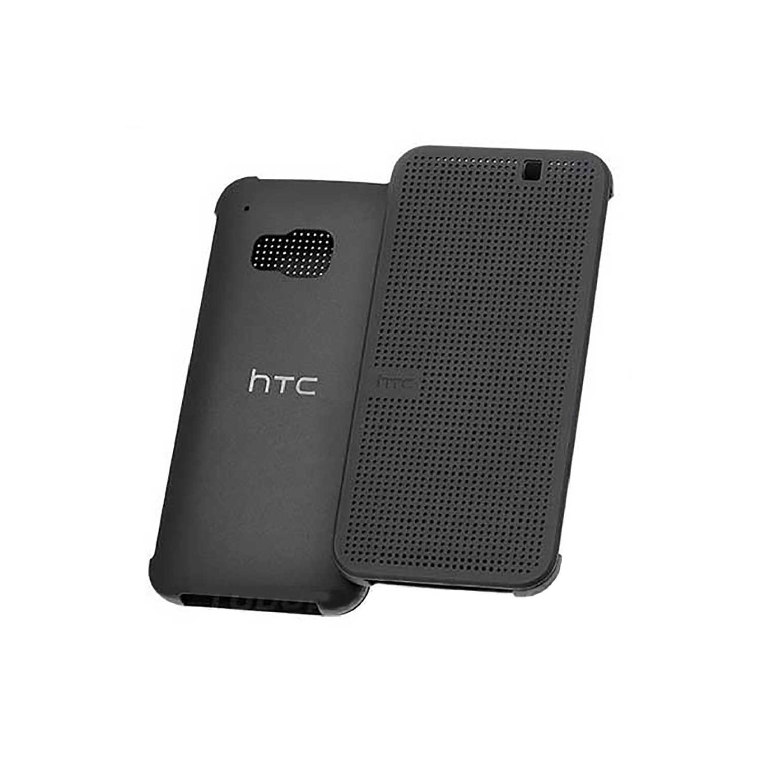 Case - HTC OEM for HTC One M9 Dot View Black