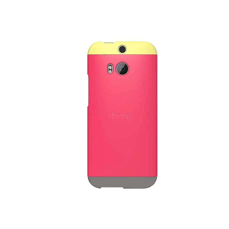 Case - Dip Case HTC OEM for HTC One M8 Raspberry Rose