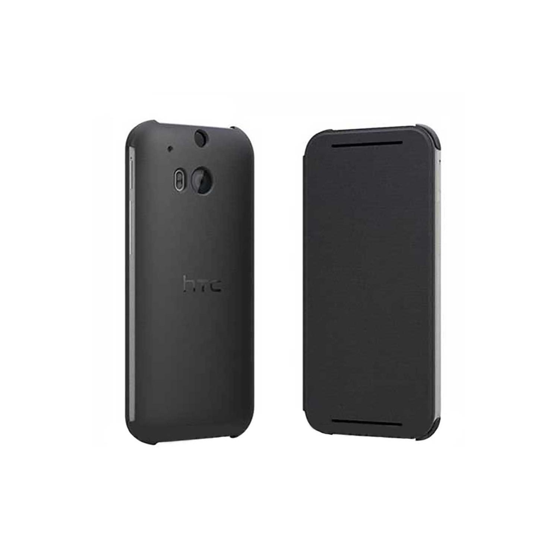 . Funda Flip Case para HTC One M8 Negra