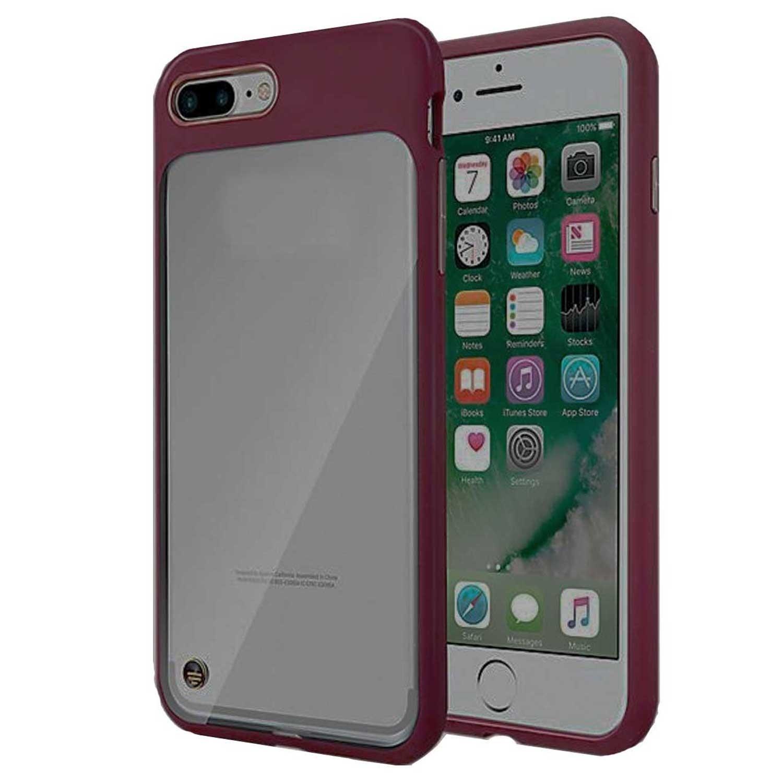. Funda MILK & HONEY para iPhone 8 PLUS Vino Transparente