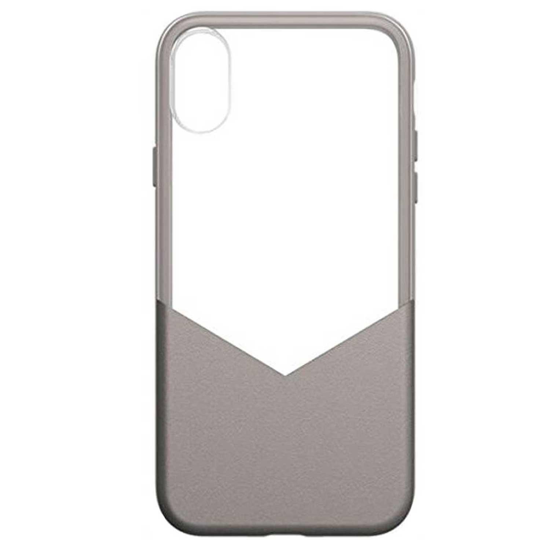 . Funda MILK & HONEY para iPhone X y Xs Plata Transparente