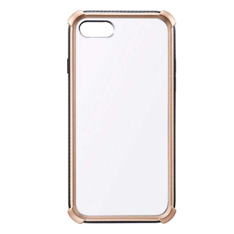 . Funda MILK & HONEY para iPhone SE (2020) iPhone 8 y 7 Oro Transparente