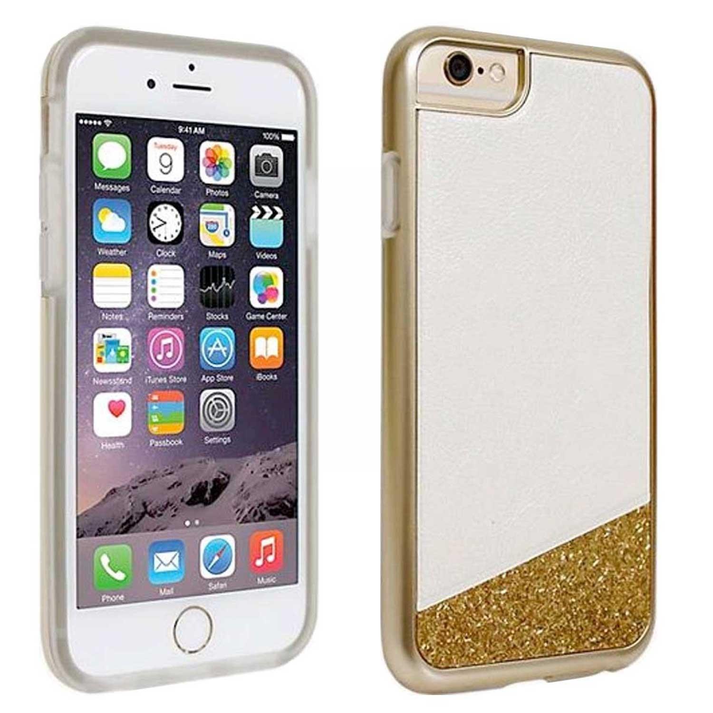 . Funda MILK & HONEY para iPhone 6 y 6s Blanco oro