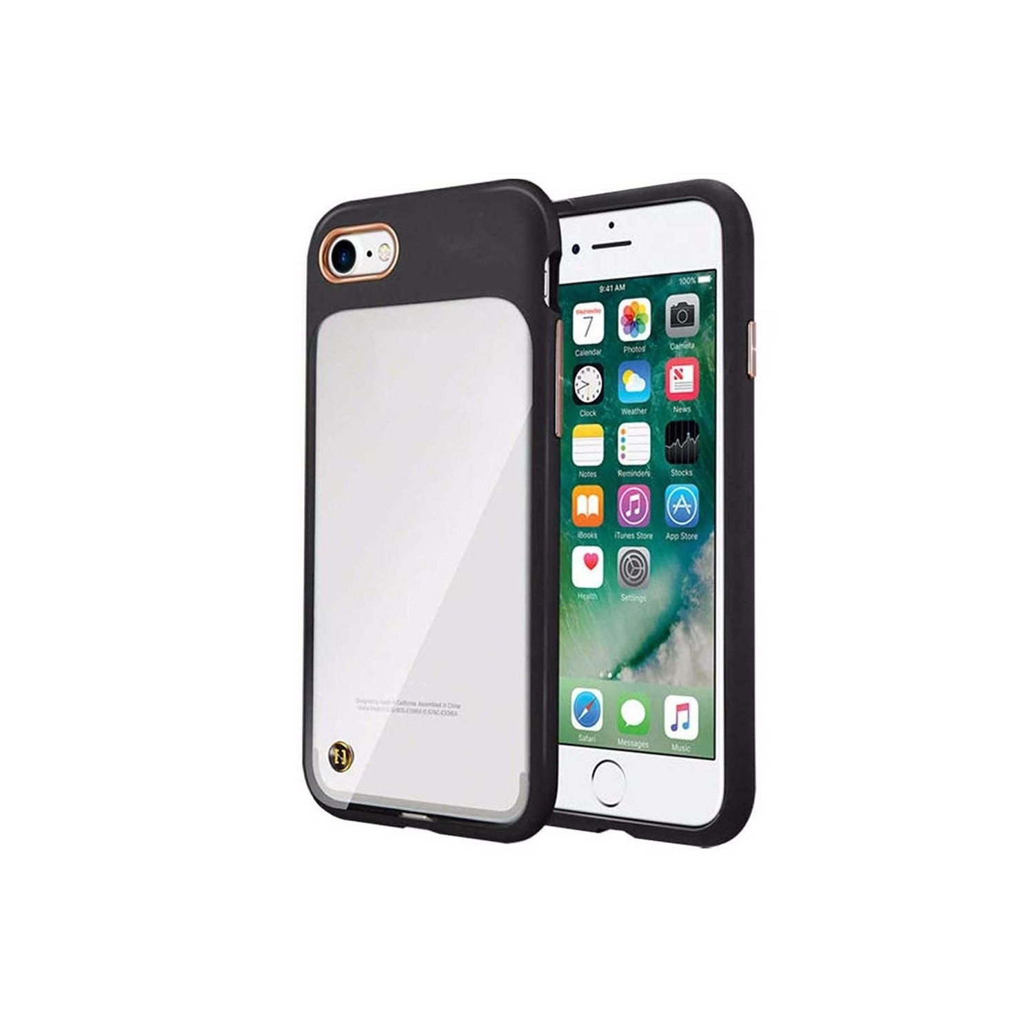 Case - MILK & HONEY for iPhone 8 / 7 clear with design