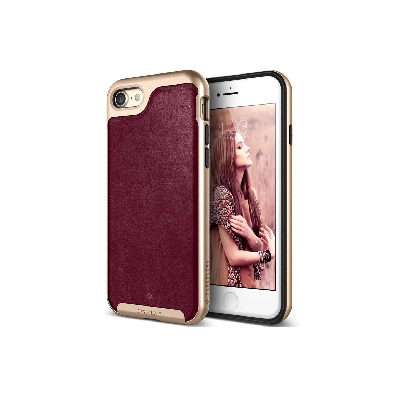 . Funda CASEOLOGY Envoypara iPhone SE iPhone8 y 7 burgundy