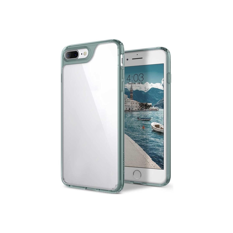 . Funda CASEOLOGY Waterfall para iPhone8 PLUS y 7 PLUS Transparente Turquesa