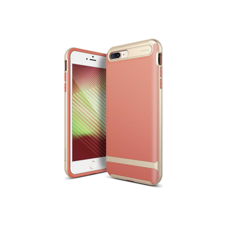 . Funda CASEOLOGY Wavelength Coral para iPhone8 PLUS y 7 PLUS