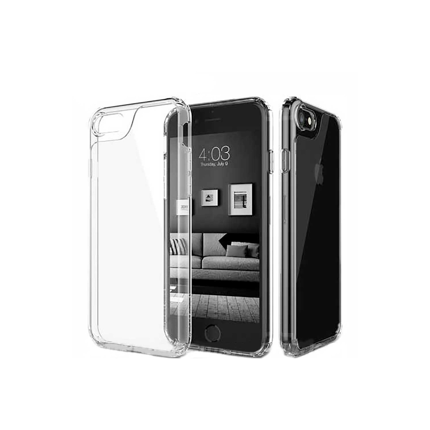 Case - CASEOLOGY iPhone 7 - Waterfall - Clear
