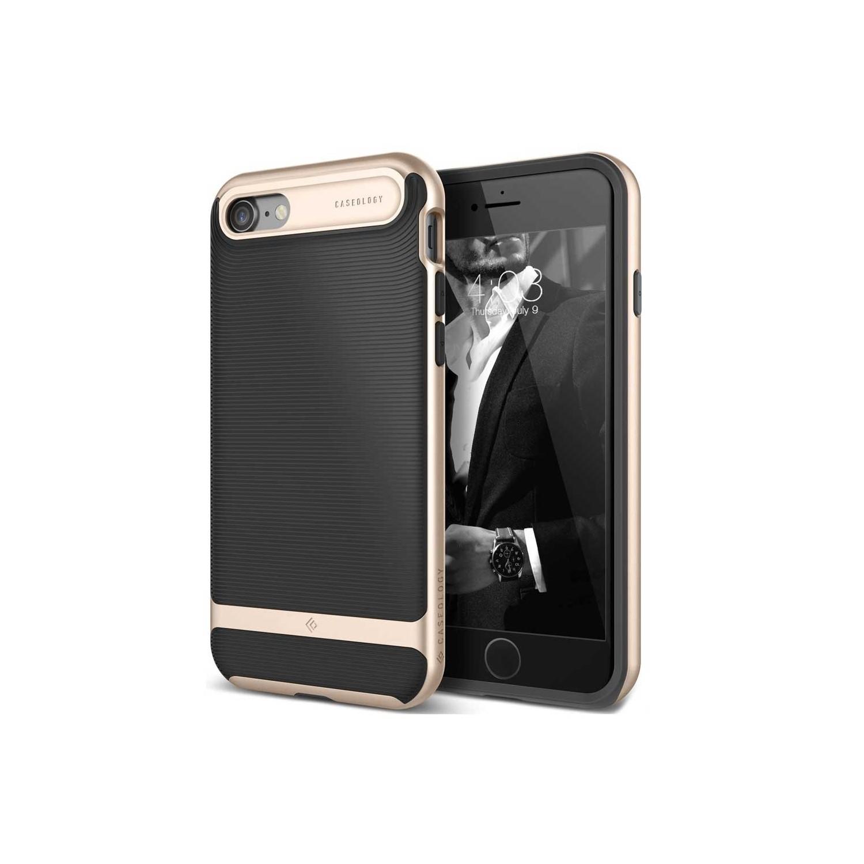 . Funda CASEOLOGY Wavelength Negra para iPhoneSE iPhone 8 y 7