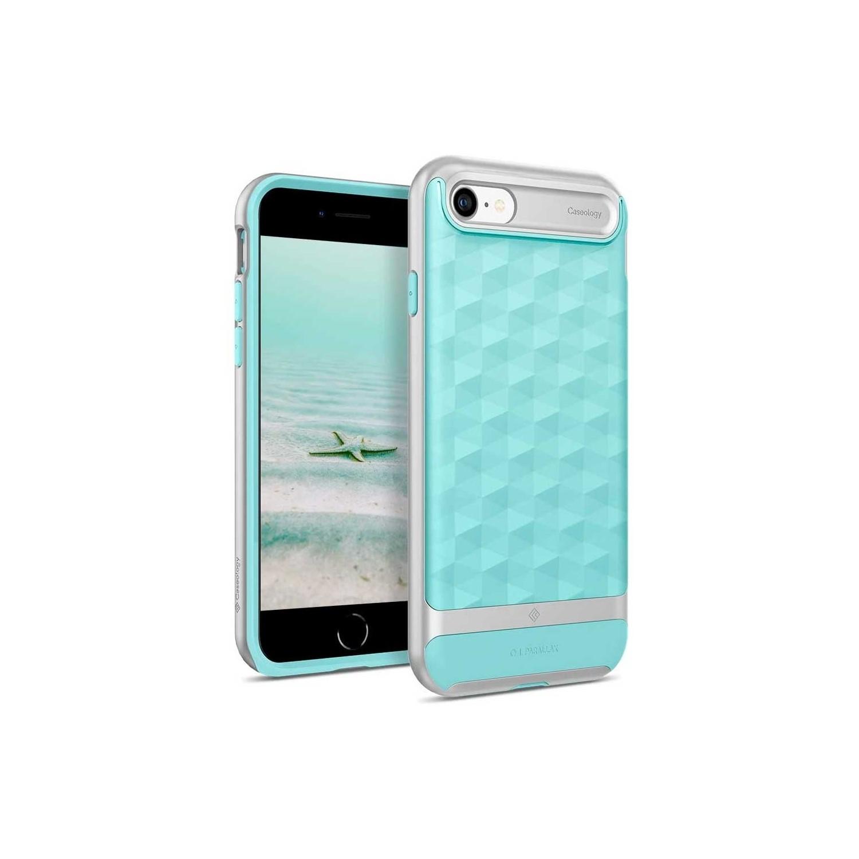 . Funda CASEOLOGY Parallax Menta para iPhoneSE iPhone 8 y 7