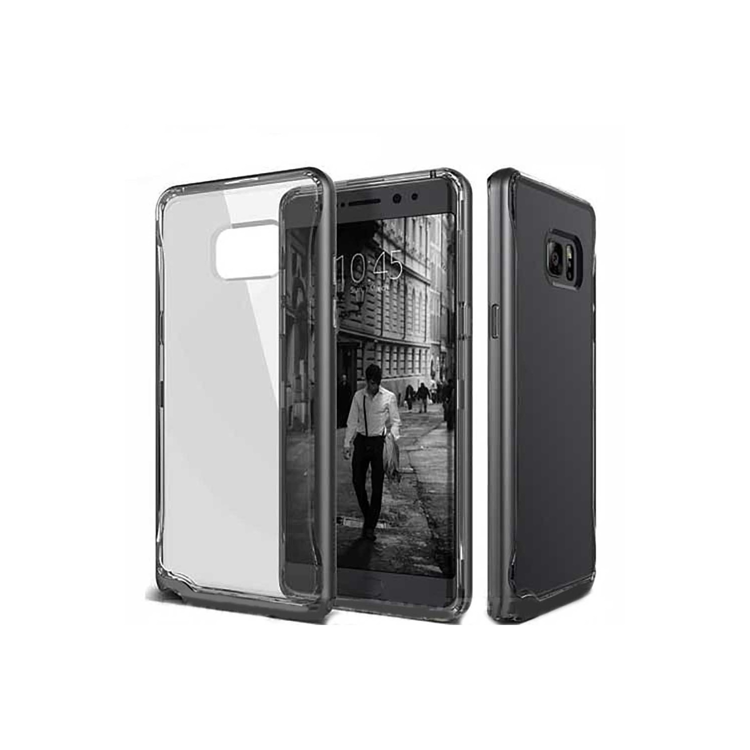 Case - CASEOLOGY Samsung Note 7 - Skyfall - Clear Black