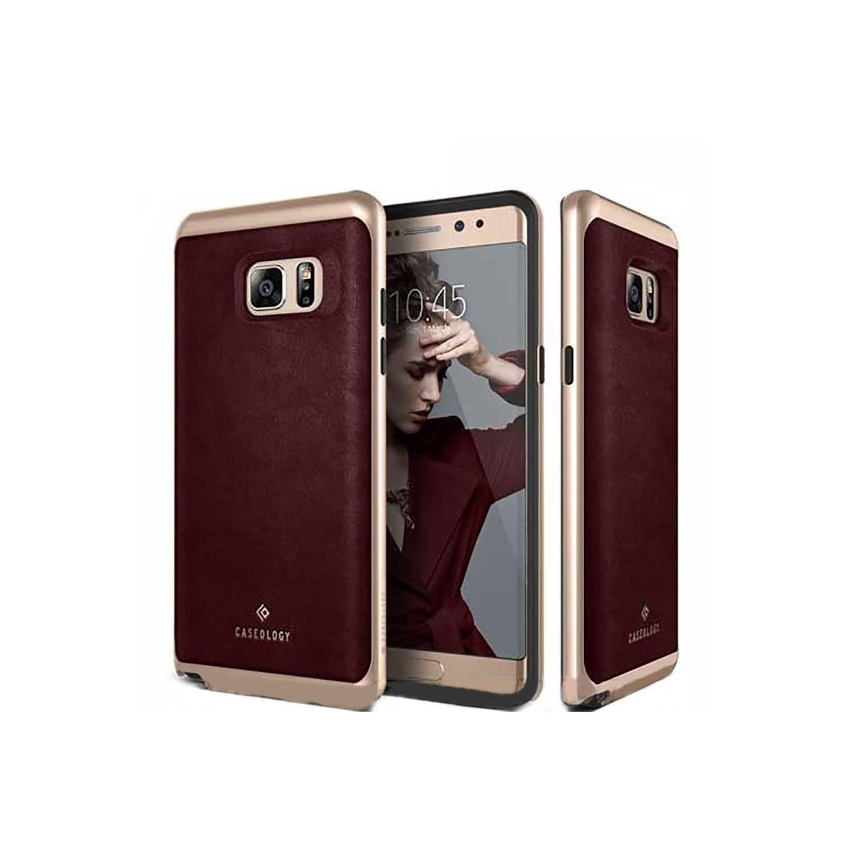 Case - CASEOLOGY Samsung Note 7 - Envoy - Cherry Oak