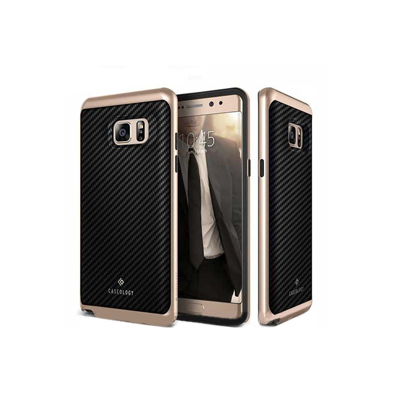Case - CASEOLOGY Samsung Note 7 - Envoy - Black Carbon Fiber