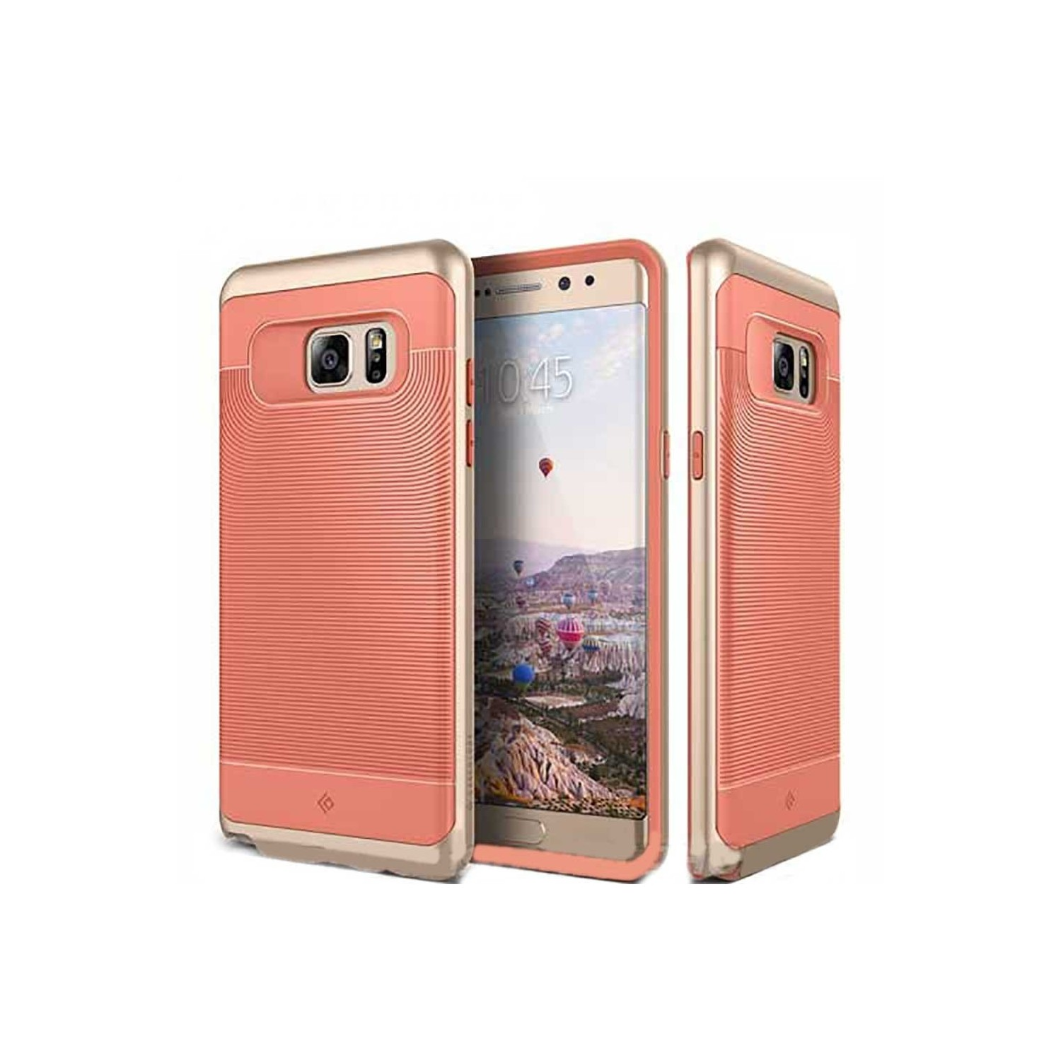 Case - CASEOLOGY Samsung Note 7 - Wavelength - Coral Pink