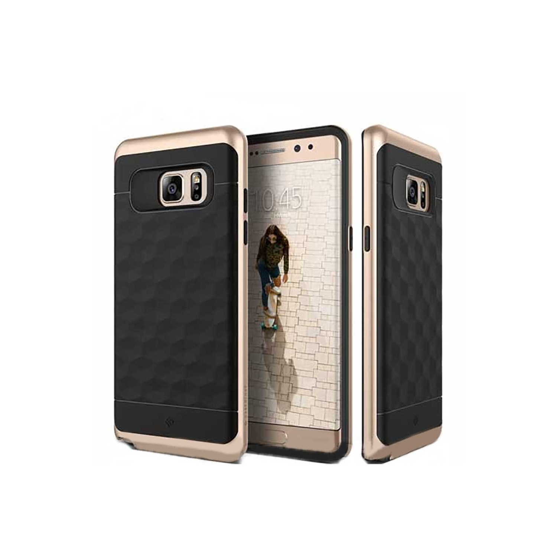 Case - CASEOLOGY Samsung Note 7 - Parallax - Black Gold