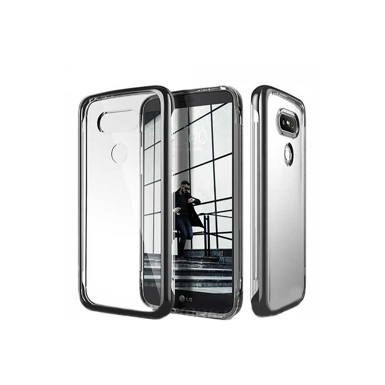 . Funda CASEOLOGY SkyfallGris para LG G5 Transparente