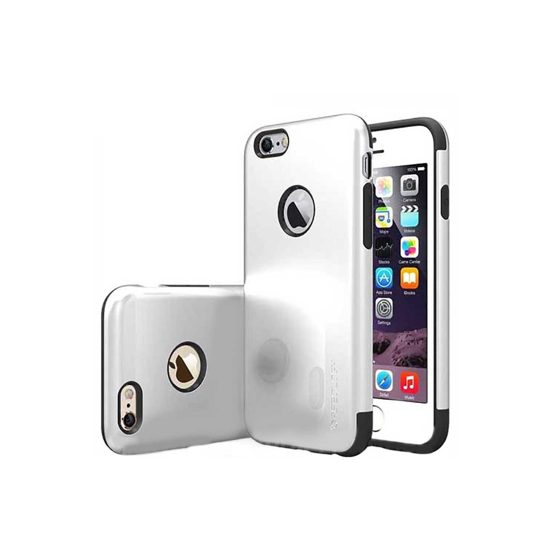 . Funda CASEOLOGY Dual Layer Plata para iPhone 6 y 6s