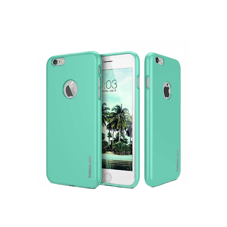 . Funda CASEOLOGY Drop TPU Menta para iPhone 6 y 6s