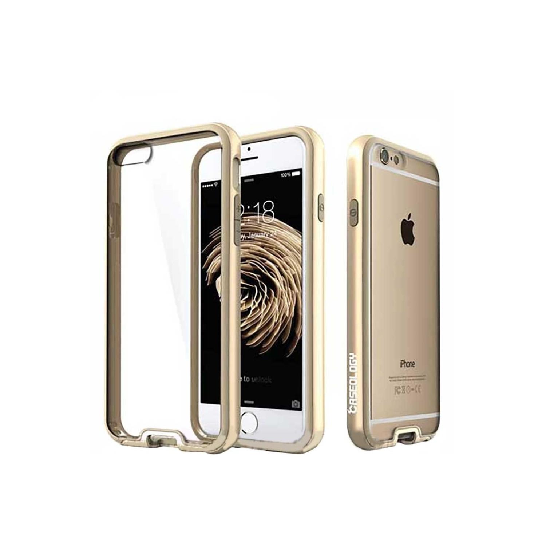 . Funda CASEOLOGY Fusion Oro para iPhone 6 Transparente