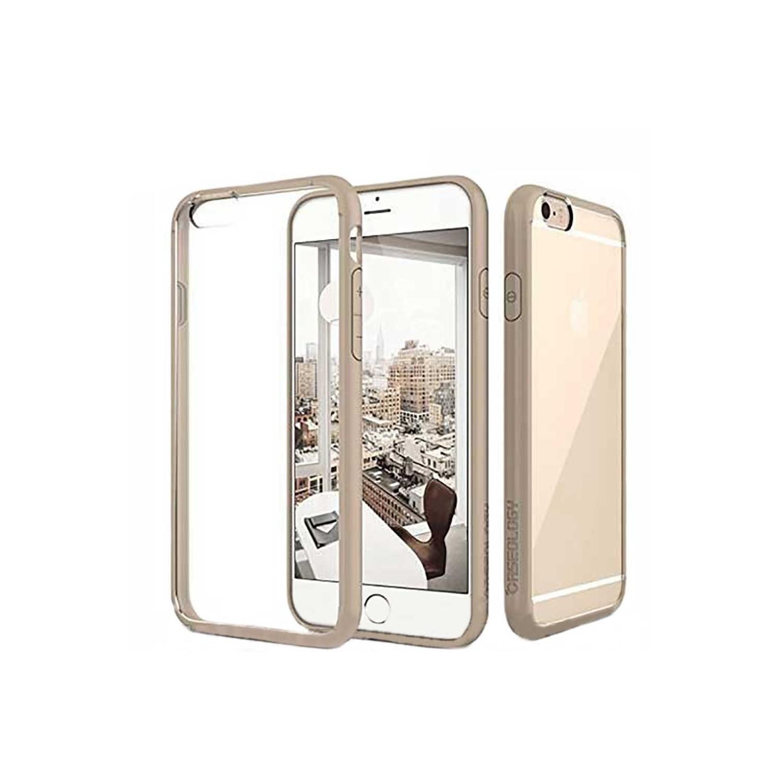 . Funda CASEOLOGY Fusion Beige para iPhone 6 Transparente
