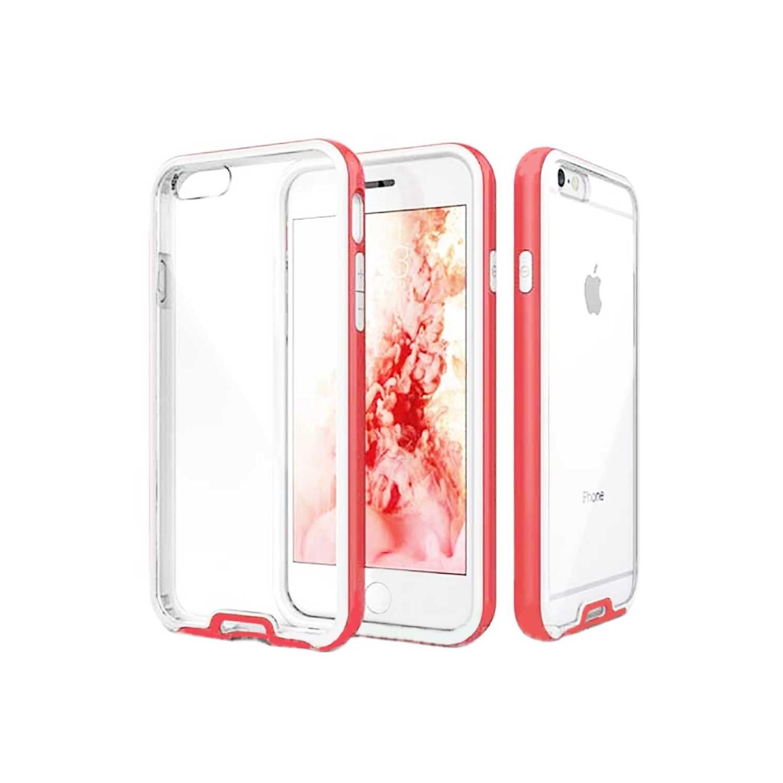 . Funda CASEOLOGY Fusion Rosa para iPhone 6 y 6s Transparente
