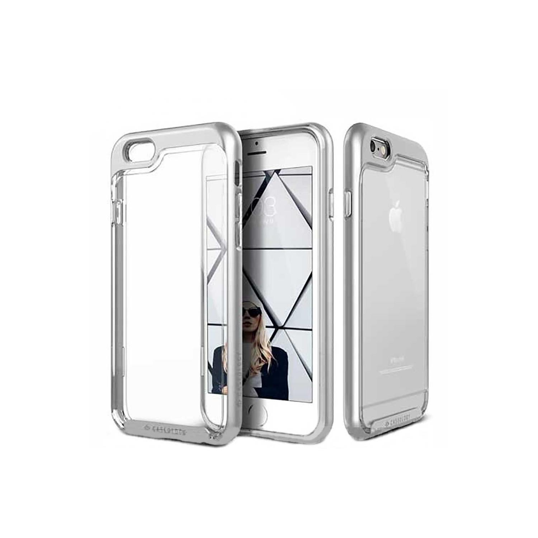 . Funda CASEOLOGY Skyfall Plata para iPhone 6 Transparente